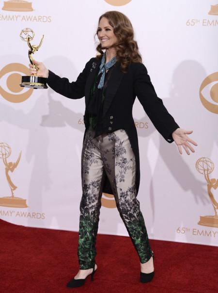 Melissa Leo zapato Emmy 2013