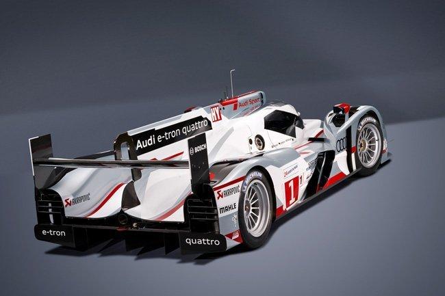 Audi R18 e-tron quattro, bólido LMP1 híbrido vencedor de las 24 h Le Mans 2012