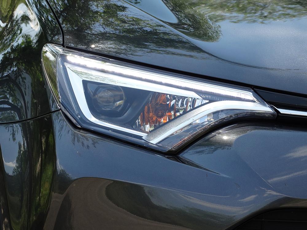 Prueba Toyota RAV4 hybrid: exteriores