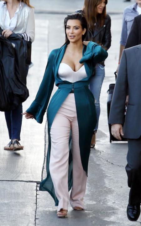 kim kardashian look Ulyana Sergeenko