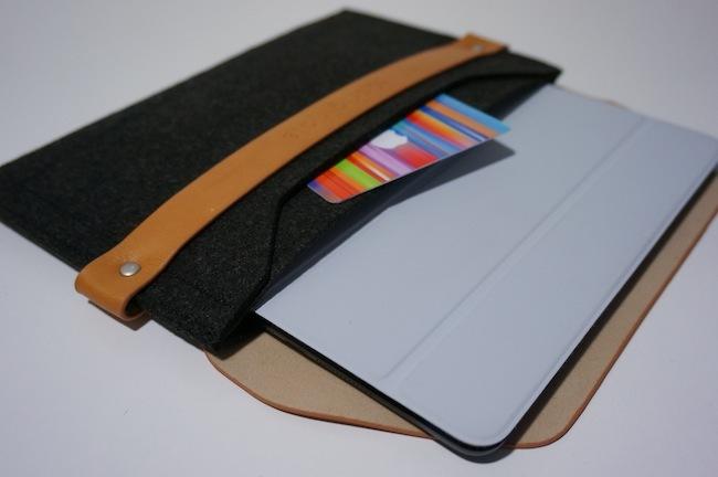 iPad mini sleeve funda con smart cover