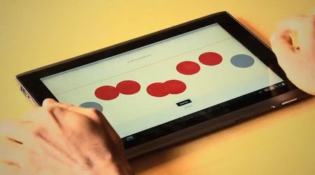 Teclado en touchscreen para ciegos