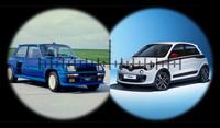 Cara a cara: Renault 5 frente a Renault Twingo