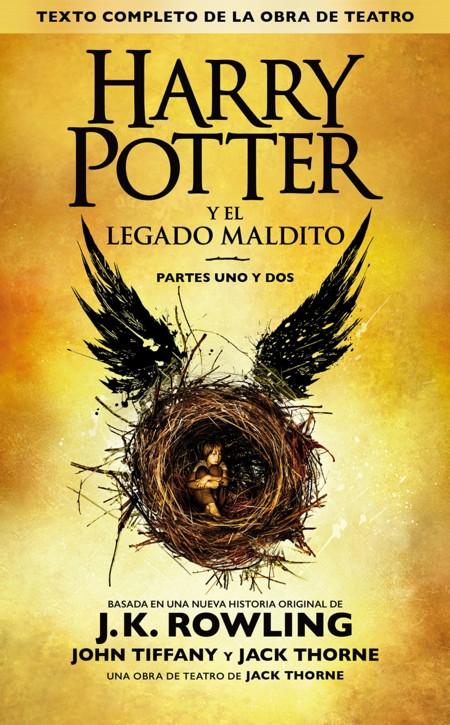 Harry Potter Y El Legado Maldito J K Rowling Portada