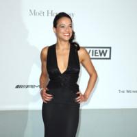 Michelle Rodriguez amfar Cannes 2014