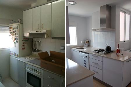 Antes y después cocina con poco presupuesto Três Studio - 4