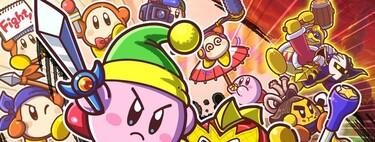 Análisis de Kirby Fighters 2, o cómo convertir unas caóticas batallas de Kirby contra Kirby en una inagotable fuente de explosiones y risas