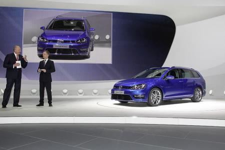 Presentacion del Volkswagen Golf Avant Concept R-Line
