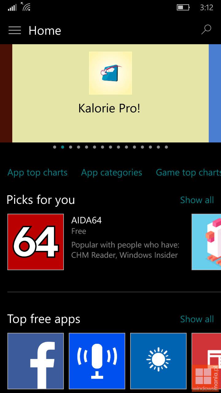 Foto de Build 10162 de Windows 10 Mobile (7/8)