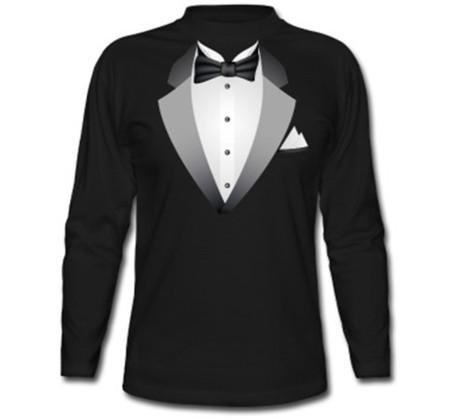 Esmoquin-Camiseta