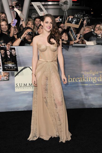 Kristen Stewart estreno amanecer