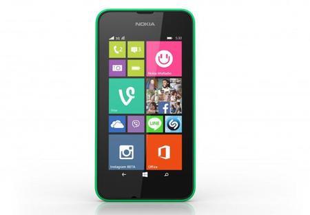 Frontal del Lumia 530