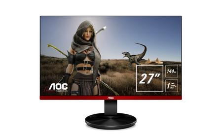 AOC apuesta por el Full HD en sus últimos monitores gaming que ya se pueden encontrar en las tiendas