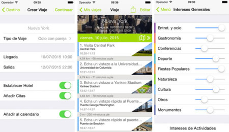 Triporg para iOS