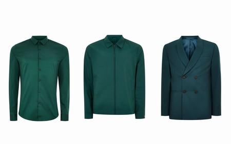 Verde Esmeralda Color En Tendencia Trendencias Hombre Otono Invierno 2018