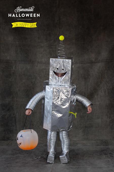 Disfraces Facil Barato Ninos Robot