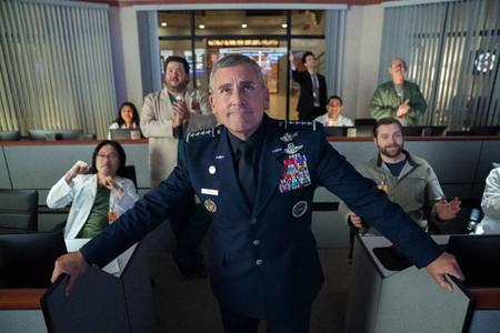 Tráiler de 'Space Force': Netflix nos lleva a la militarización del espacio en la nueva comedia de Steve Carell