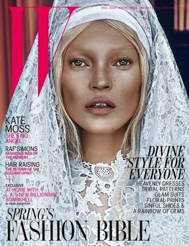 Está la buena, la mala y Kate Moss en W