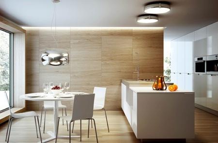 Siss, iluminación discreta y elegante para la cocina