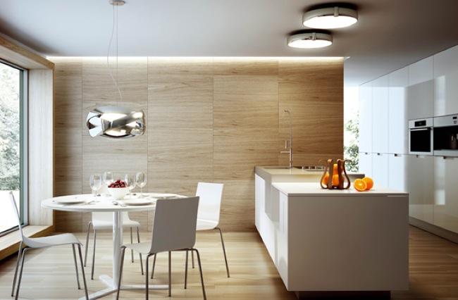 Siss iluminaci n discreta y elegante para la cocina - Iluminacion de cocinas ...