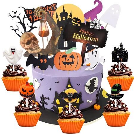 Piezas para decorar cupcakes