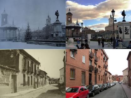 Lectores de XatakaFoto: Alcalá de Henares ayer y hoy