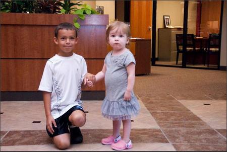 Cómo un niño llamado Wyatt, ganó un concurso para ayudar a una amiga enferma