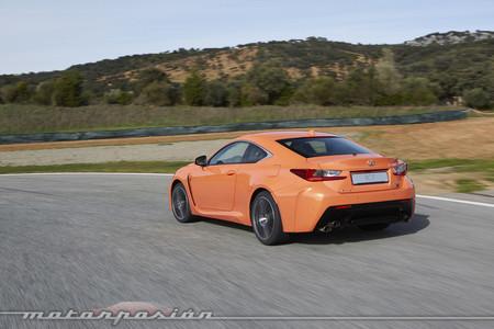 Lexus RC F - prueba Ascari - toma de contacto