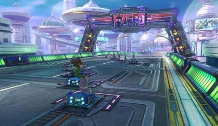 La pista de F-Zero se muestra en el nuevo video de Mario Kart 8