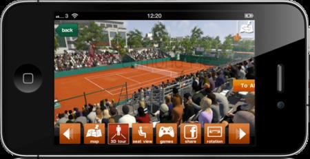 Roland-Garros tiene su aplicación para iOS y Android