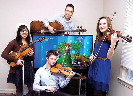The Retro Video Games Quartet nos deleitan con un medley del 'Zelda'