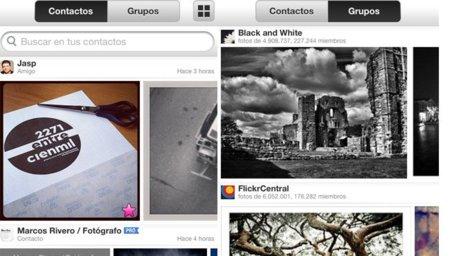 Flickr renueva su aplicación para iPhone añadiéndole filtros a lo Instagram