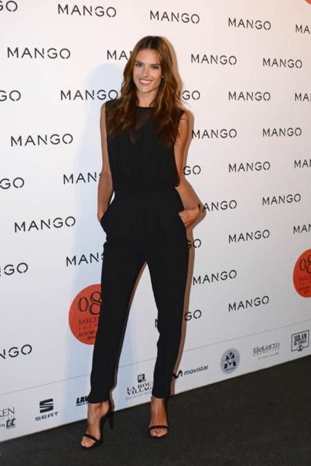 Top Alessandra Ambrosio Mango