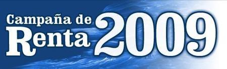 Disponible el programa PADRE para la Renta 2009