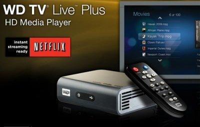 WD TV Live Plus sube el listón de los streamers de contenido