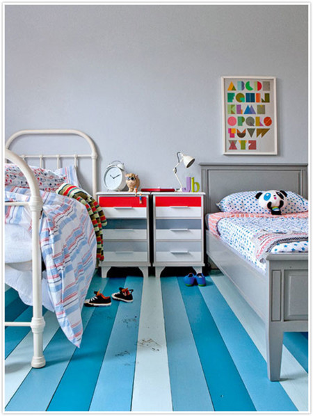 Ni de ni o ni de ni a 21 habitaciones infantiles unisex for Rooms to go kids san antonio