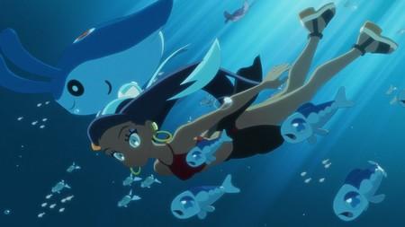 Cathy, la líder de gimnasio de tipo Agua de Pokémon Espada y Escudo, protagoniza el cuarto capítulo de Pokémon: Alas del Crepúsculo