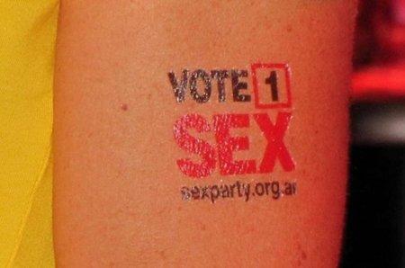 El Partido del Sexo de Australia, la opción de las libertades digitales