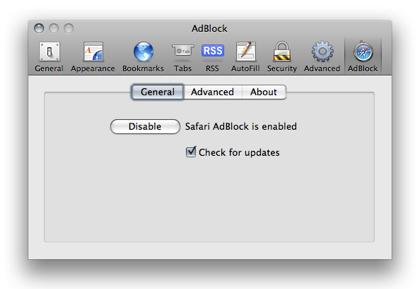 Safari AdBlock, bloquea la publicidad en Safari