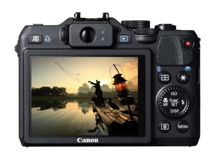 Canon PowerShot G15 pantalla