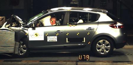 Renault Mégane III, el primer 10 en EuroNCAP