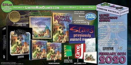 La edición especial de Monkey Island de Limited Run Games parece el regalo perfecto para conmemorar su 30 aniversario