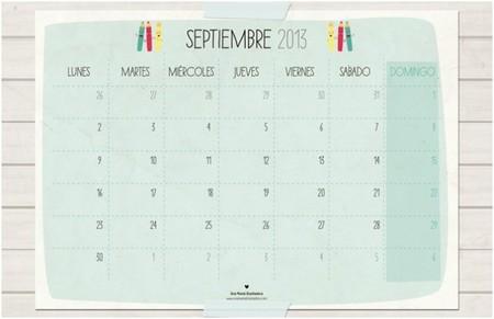 calendario una mama diseñadora