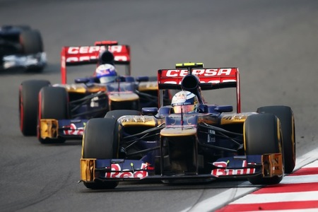 Vergne y Ricciardo