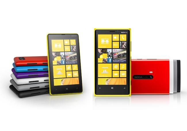 Nokia Lumia 820 y Nokia Lumia 920