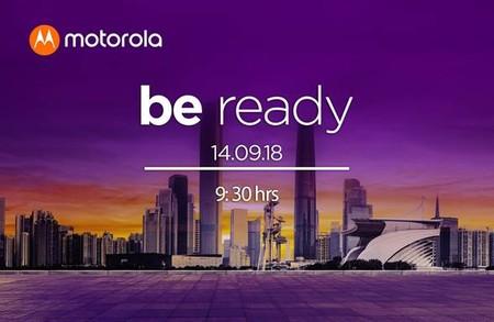 Motorola One Mexico 14 Septiembre Invitacion