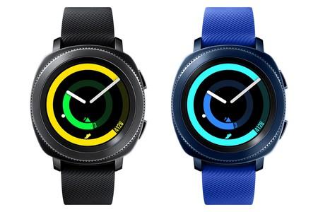 Gear Sport, así es el nuevo smartwatch deportivo de Samsung: con resistencia al agua y GPS