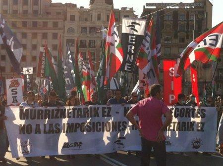 """Los sindicatos de la Ertzaintza planean """"colapsar"""" el blog de Patxi López"""
