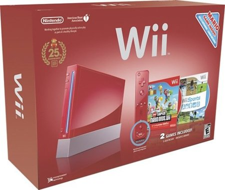 Nintendo Wii 25 aniversario