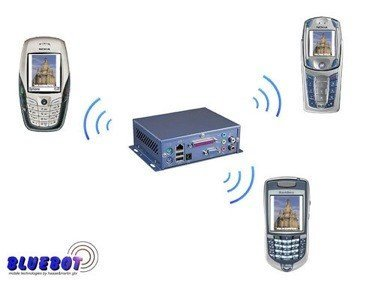 Bluebot, información en tu móvil por Bluetooth